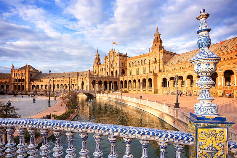 Plaza de España - The Spanish Steps Seville